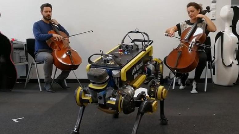 Construyen robot que adora bailar al ritmo de U2