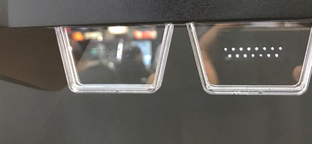 Gafas de realidad aumentada cada vez más pequeñas