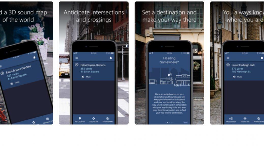 La tecnología de navegación de Microsoft para ciegos ahora es una aplicación