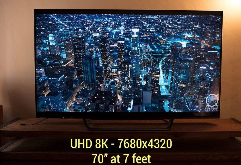 RED y Sharp se unen para crear un televisor 8K de 70 pulgadas
