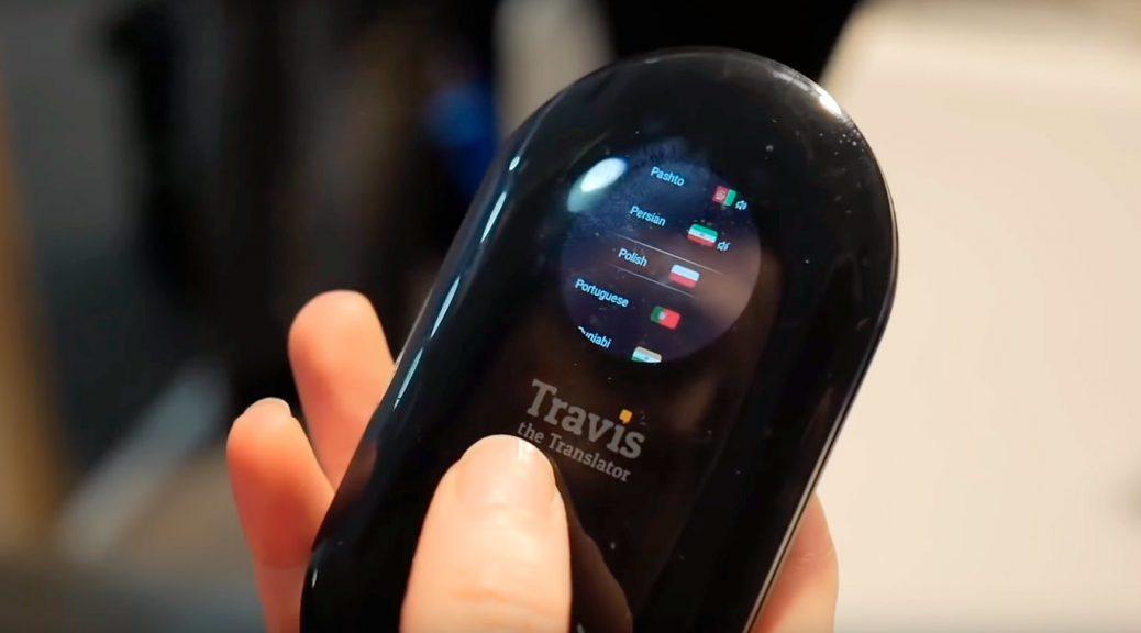 Travis Translator, dispositivo portátil para traducción instantánea
