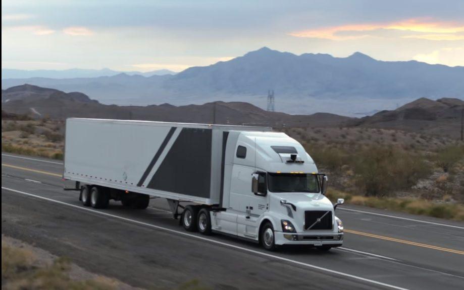 Los camiones autónomos de Uber empiezan a operar en EE.UU.