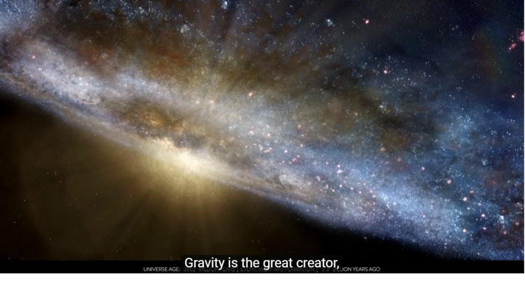 Los 13.800 millones de años del Universo en un timelapse maravilloso, 22 millones de años en cada segundo