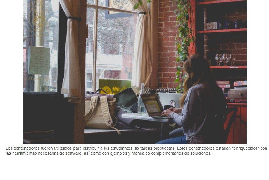 Los contenedores virtuales, importante avance en el aprendizaje 'on line'