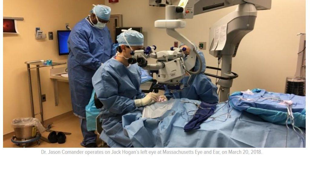 Un niño de 13 años es la primera persona en los EE. UU. en recibir terapia génica recientemente aprobada para la ceguera
