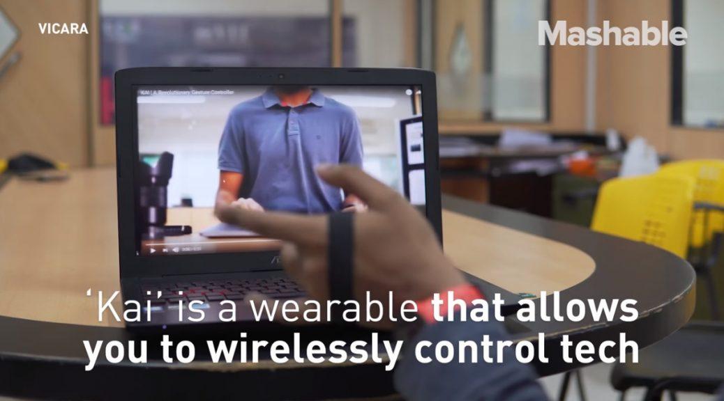 Convierta su mano en un ratón de computadora con este nuevo dispositivo portátil
