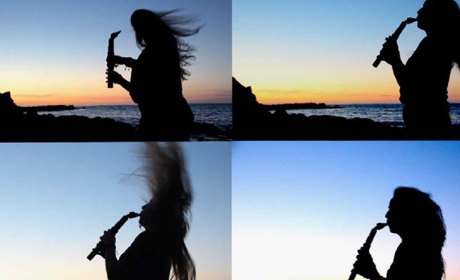 Saxmonica, híbrido de saxofón y armónica, extremadamente fácil de aprender a tocar