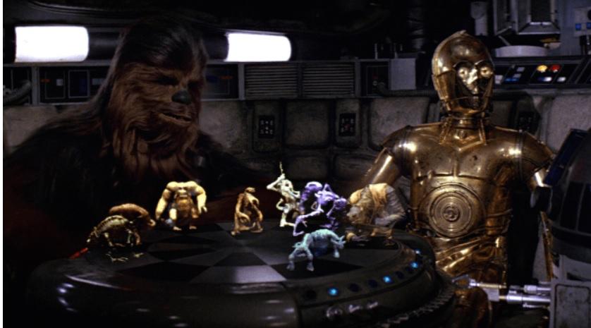 El ajedrez holográfico de Star Wars llega a su iPhone o iPad