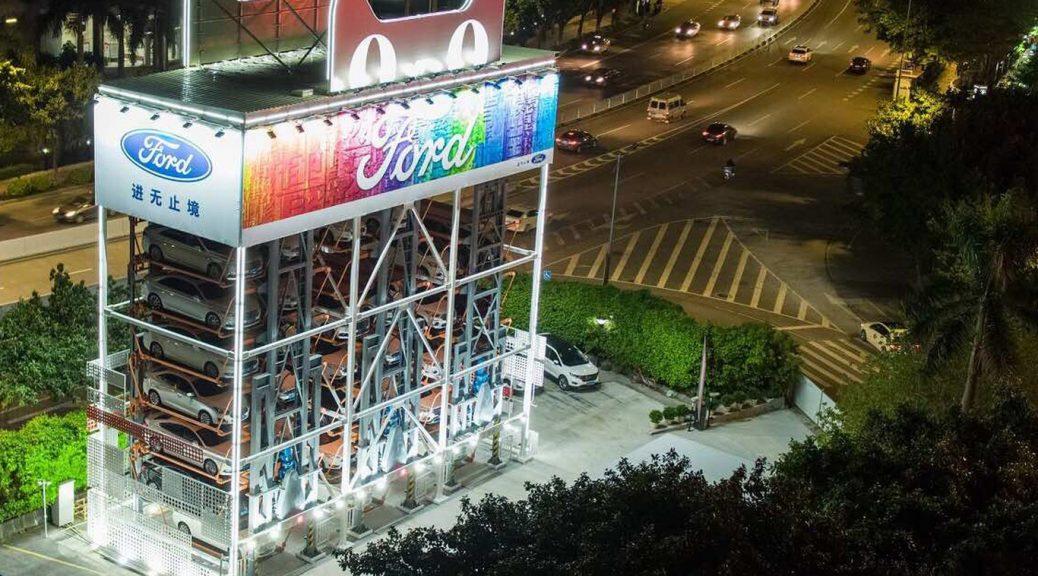 Crean máquina expendedora de autos en China