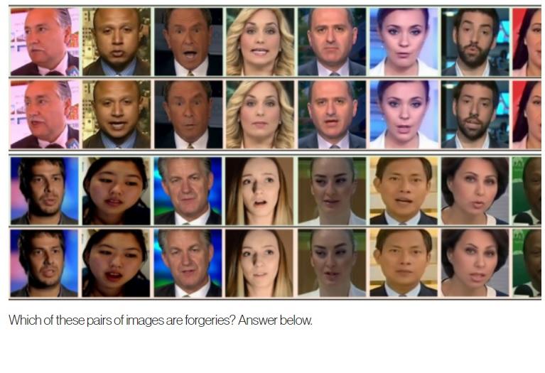 Usan aprendizaje automático para detectar rápidamente falsificación de rostros en videos