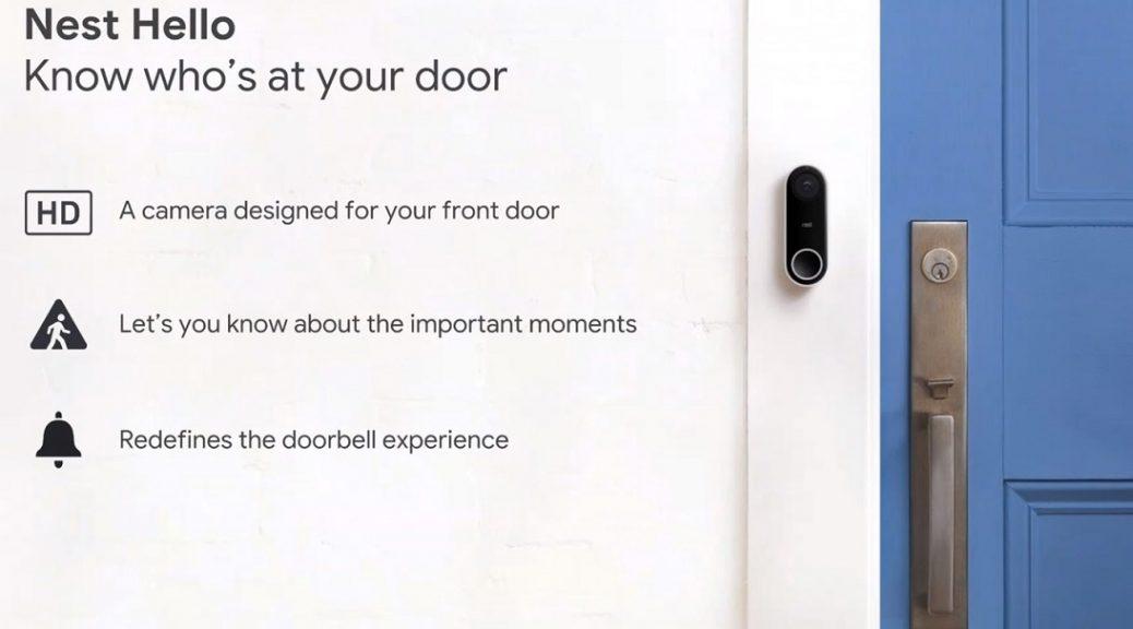 Una cámara conectada para que siempre sepa quién llama a la puerta