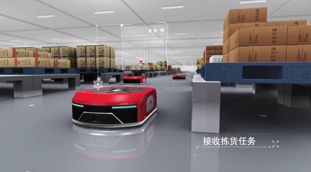 Robots envían 200 mil pedidos al día en China