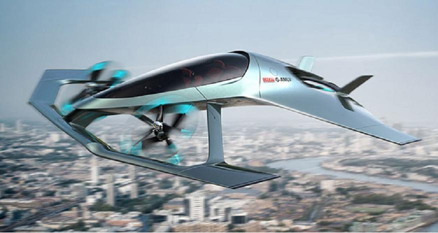 Existen los jets privados y llegará la aeronave eléctrica, personal y autónoma de Aston Martin