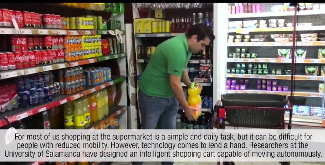 ba257941e3e5 Diseñan carrito de compras inteligente en supermercados para personas con  movilidad reducida