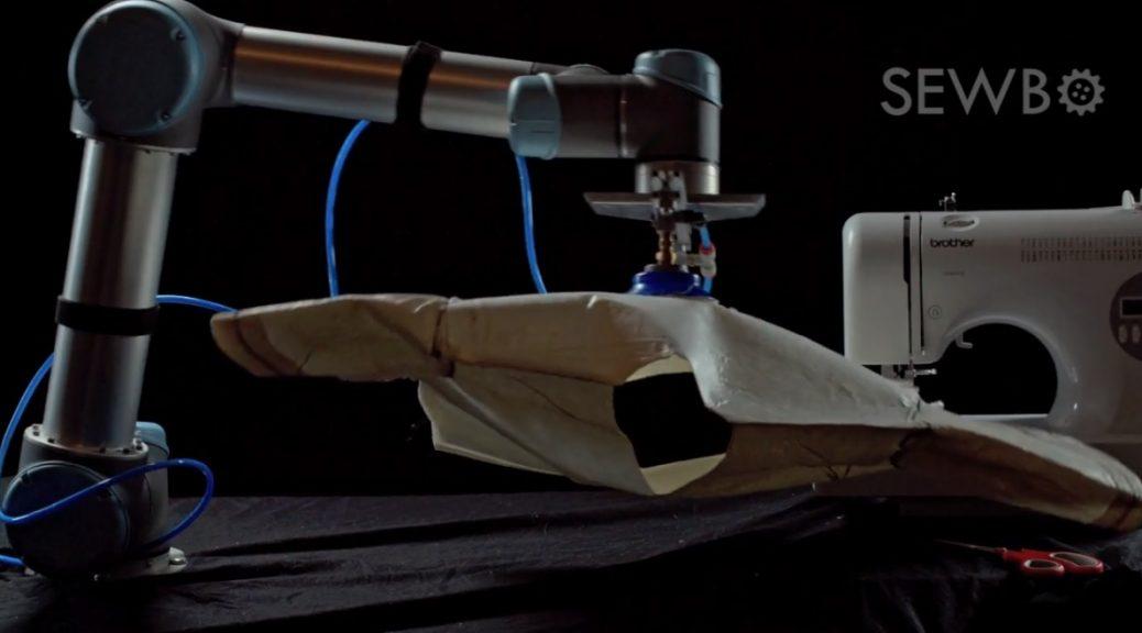 Este robot puede coser una camiseta entera sin ayuda humana
