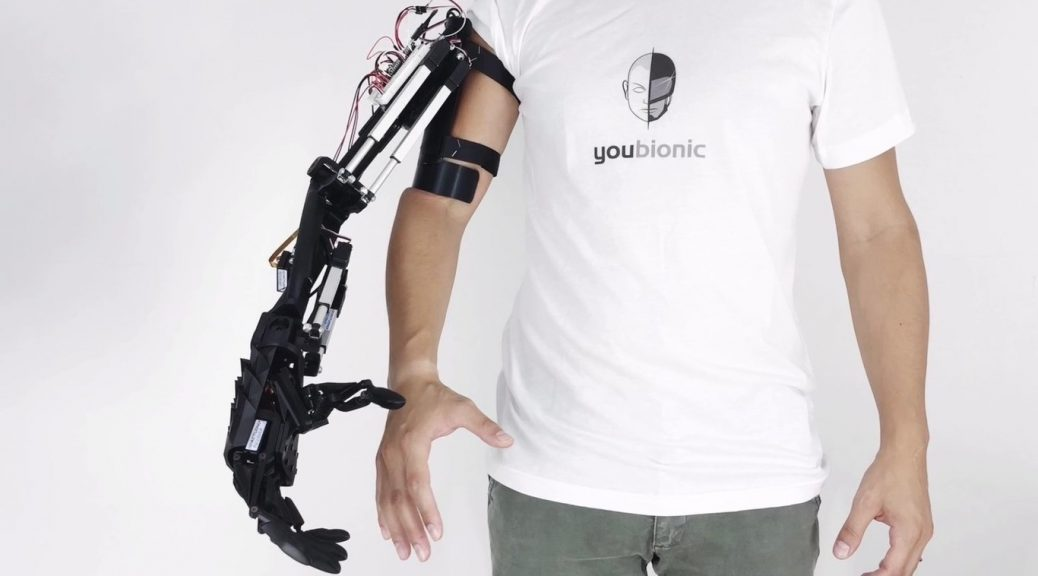 Brazo robótico impreso en 3D quiere ser la primera prótesis asequible