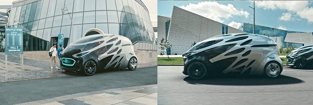 Concepto de Mercedes-Benz para el transporte urbano del futuro