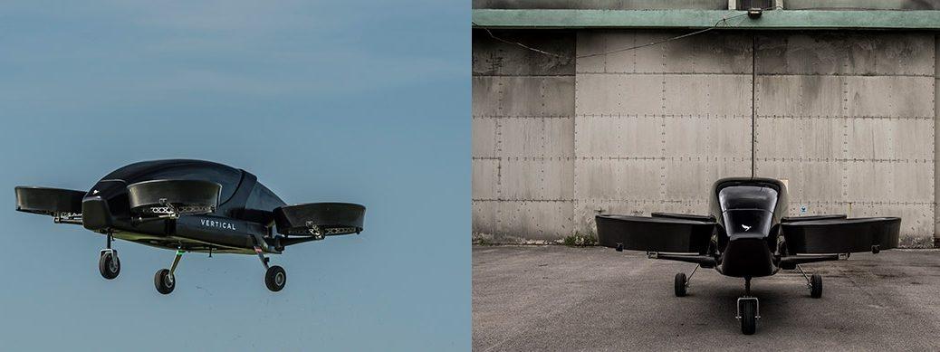 Presentan un avión eléctrico de despegue y aterrizaje vertical