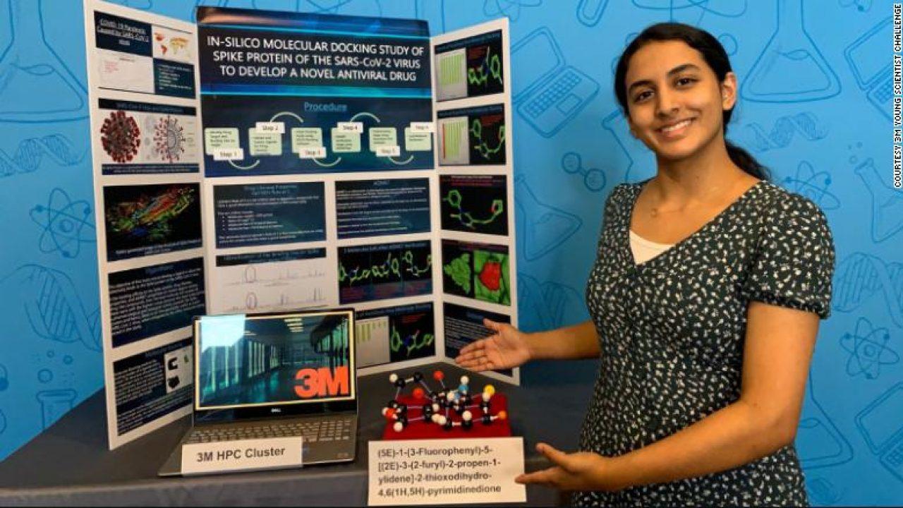 El descubrimiento realizado por una niña de 14 años podría conducir a una cura para el coronavirus - PDM Productos Digitales Móviles
